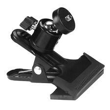1X Astounding Multi-function Office Spring Clamp Clip Ball Head for Camera Flash