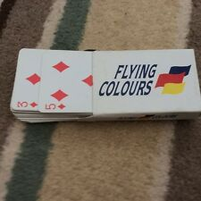 FLYING COLOURS PLAYING CARDS USED
