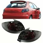 SMOKED REAR TAIL LIGHTS LAMPS FOR PEUGEOT 206 3 & 5 DOOR HATCHBACK 1998-2006