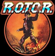 80's Cult Classic R.O.T.O.R. Poster Art custom tee Any Size Any Color