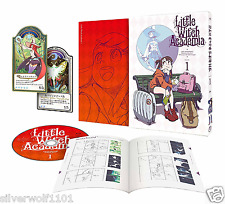 Little Witch Academia Vol.1 First Limited Edition DVD+Making Book+Card Japan F/S