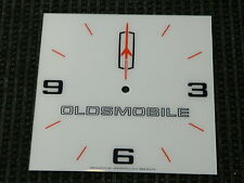 "*NEW* 15"" OLDSMOBILE GM HOTROD SQUARE GLASS clock FACE FOR PAM"