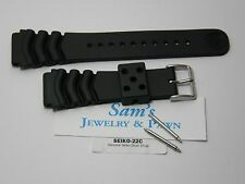 Genuine Seiko Z-22mm Wave Diver Band SKX175 SKX176 SKXA35 6309 7002 7S26 #4FY8JZ