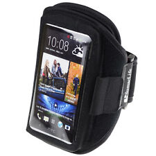 Black Gym Sport Armband Case for HTC 10 / HTC One A9 M9 / Desire EYE 626 526 612