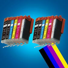 12 Ink Cartridges Canon For PGI550 CLI551 MG7150 MG6350 With 2 Grey inks 2