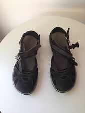Sold out MERRELL WOMEN'S AZURA WRAP SIZE 7 BLACK Hiking shoes sandals