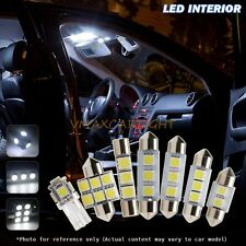 11 Pcs White  LED Car Interior Lights Package kit for 2004-2008 Ford F-150
