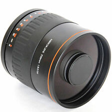 900mm f/8 Mirror Lens T2 DX Reflex Telephoto for Canon 7D 5D MarkII III 60D T3
