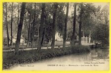 cpa France 28 - CHAUDON (Eure et Loir) MORMOULINS Les Bords de l'Eure Moulin