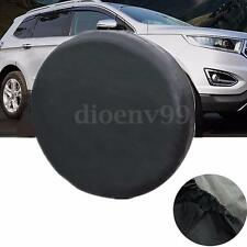 14'' Universal Soft Black Spare Tire Cover Wheel Covers For All Cars Tyre Hot