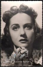 Lucienne Boyer. Photographie signée. Collection Leroux. Vers 1940