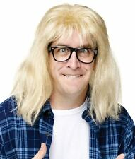 Mens Adult Funny Saturday Night Live SNL Deluxe Garth Costume Wig & Glasses