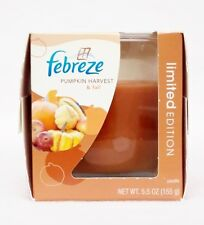 1 Febreze Limited Edition PUMPKIN HARVEST & FALL  Scented 1 - Wick Filled Candle