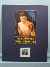 Jack Dempsey vs. Georges Carpentier honored by the Jack Dempsey stamp