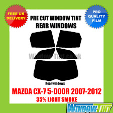 MAZDA CX-7 5-DOOR 2007-2012 35% LIGHT REAR PRE CUT WINDOW TINT