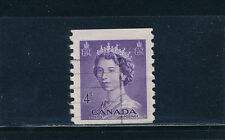 Canada #333 used, 1953 Coil