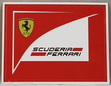 Scuderia Ferrari Sticker, Italian luxury automaker decal, car lovers, Stick on
