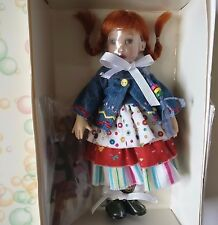 "NRFB Helen Kish Little Pippi & Monkey 7.5"" Doll Set Riley's World Tulah"
