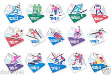 SOCHI 2014 WINTER OLYMPICS FULL COLLECTION OF PINS (168 pins total)