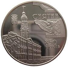 """UKRAINE  5 HRYVNI - """" 850 JAHRE STADT SNJATIN"""" - 2008 (UNC)"""