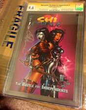HOT Shi/Cyblade CGC SS 9.6 White Pages Signed by Bill Tucci