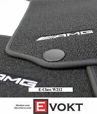 Mercedes-Benz AMG Anthracite Velour E-Class W212 Floor Mats LHD Genuine New