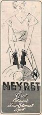 ▬► PUBLICITÉ ADVERTISING AD Gant Vêtement NEYRET Lingerie 1950