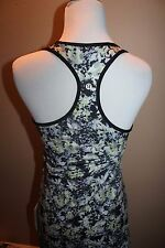 LULULEMON Cool Racerback MULTI-COLOR CCSR/BLK SHIRTS TOPS Tank Top 8 MEDIUM