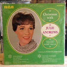 [XMAS]~EXC LP~JULIE ANDREWS~The YULETIDE CHORISTERS~Christmas With~[1969~RCA]