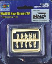 Trumpeter 1/200 Scale WWII US Navy Figures Set 6633