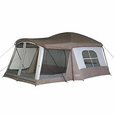 Wenzel 8 Person Klondike Tent Grey/Taupe