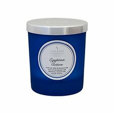 Shearer Candles Egyptian Cotton Scented Jar Candle with Silver Lid - Blue