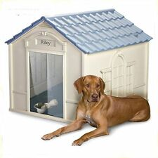 OUTDOOR DOG HOUSE  X-Large Dog Pet All Weather Durable Shelter Doghouse Kennel