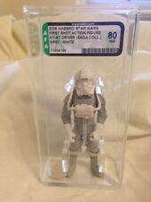 Hasbro Star Wars Saga Collection First Shot Figure AT-AT Driver Prototype AFA 80