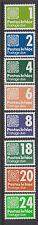 IRELAND, Scott #J28-J34, incl. J33A: MNH, 1980-85 Postage Dues