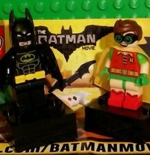 The Lego Batman Movie 2017  Minifigures Superheroes Custom Lego Batman & Robin