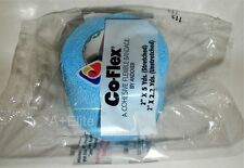 "CO-FLEX 2""x5Yd Cohesive Bandage Self Adherent Color Wrap Neon Smiley Face USA !!"