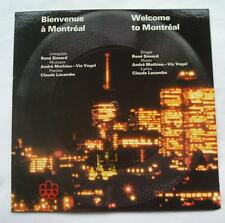 "MONTREAL OLYMPIC '76 Olympiques 1976 RENE SIMARD Flexi disc 7"" WELCOME Bienvenue"