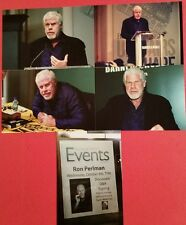 RON PERLMAN SIGNED AUTOGRAPHED BOOK EASY STREET THE HARD WAY WITH SIGNING PHOTOS
