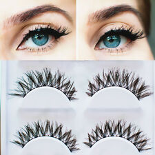 5 Paar falsche künstliche Wimpern Cross Criss False Eyelashes Makeup #14088