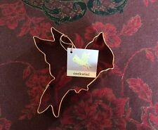 """NWT Williams-Sonoma Large 6-3/4"""" COCKATIEL Copper Cookie Cutter w/Tag"""