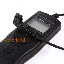 time lapse intervalometer remote timer shutter for Sony A65 A77 A700 A900 UK