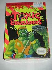 Toxic Crusaders (Nintendo NES, 1992) NEW Factory Sealed
