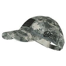 Voodoo Tactical Hunting & Military Baseball Cap w/ Embroidered US Flag Digital
