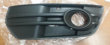 2009 to 2012 Audi Q5 Front (Driver's) Lower Fog Lamp Grille - 8R0807681A 01C
