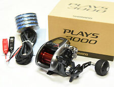 2016 NEW Shimano PLAYS 3000 With PE Line #4(44lb)-400m Electric Reel From Japan