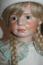 Alta calidad de porcelana Hildegard Günzel rare Poppy Doll limit. Edition Gunzel