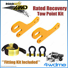 Toyota Prado 150 Series 4WD Roadsafe Rated Recovery Heavy Tow Points FULL Kit