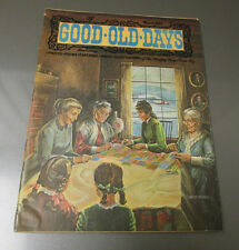 1972 GOOD OLD DAYS Magazine of Happy Memories v.8 #9 FN- Cartoons Songs Poems