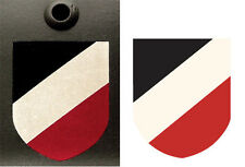 WWII World War Two Tri Color German Helmet Decal